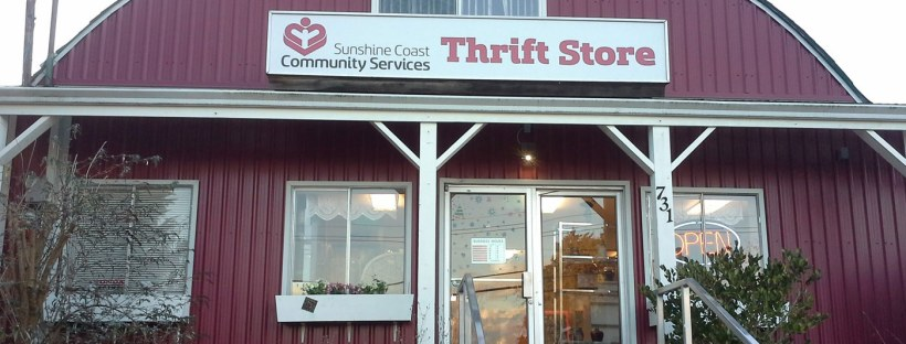 Community Services Thrift Store Gibsons BC North Road