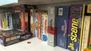 Purchase Used Games at Community Services Thrift Store