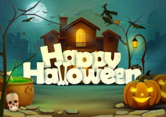 40961808 - happy halloween wallpaper background