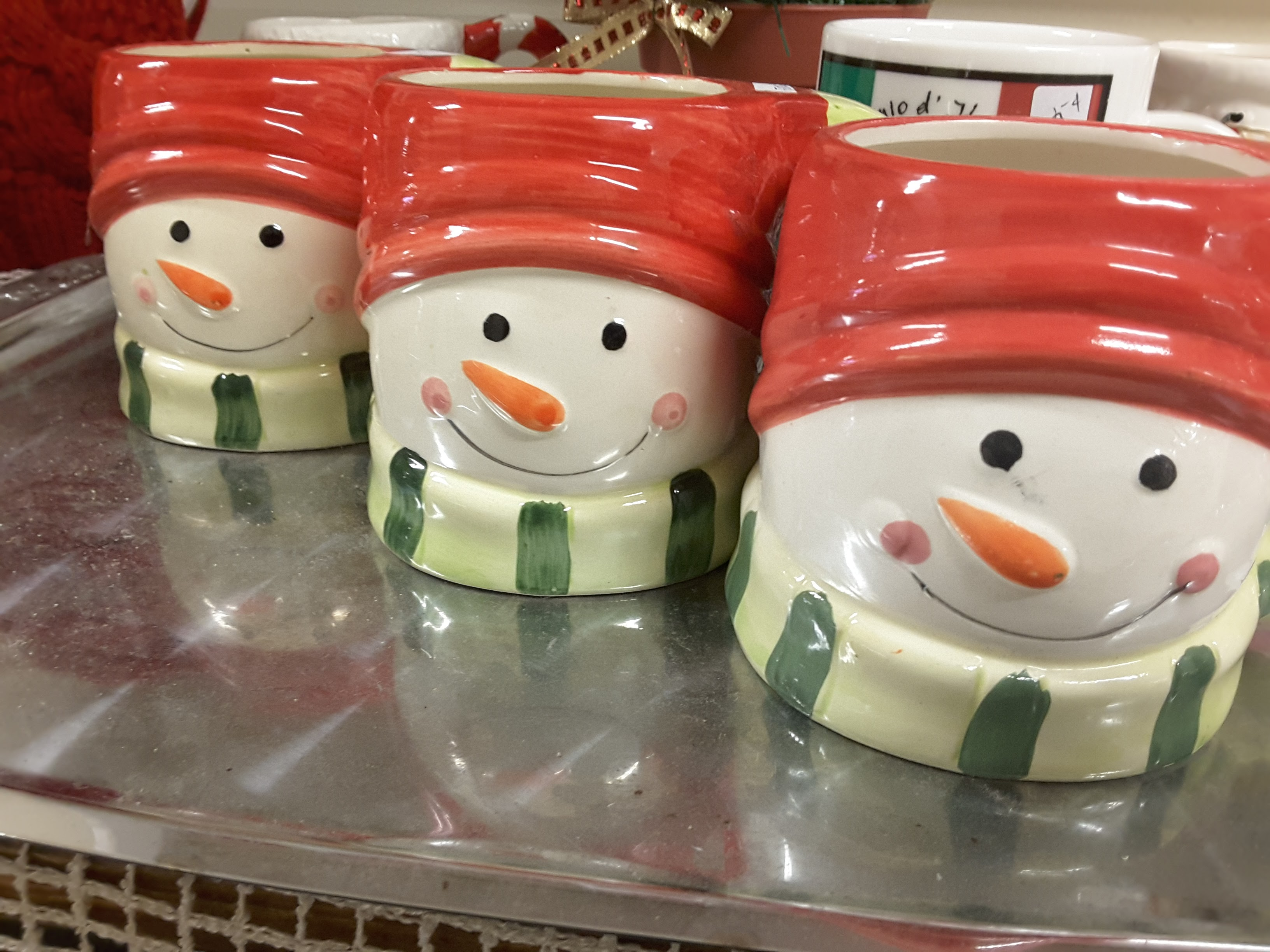Holiday Decor at Community Services Thrift Store - Gibsons, BC